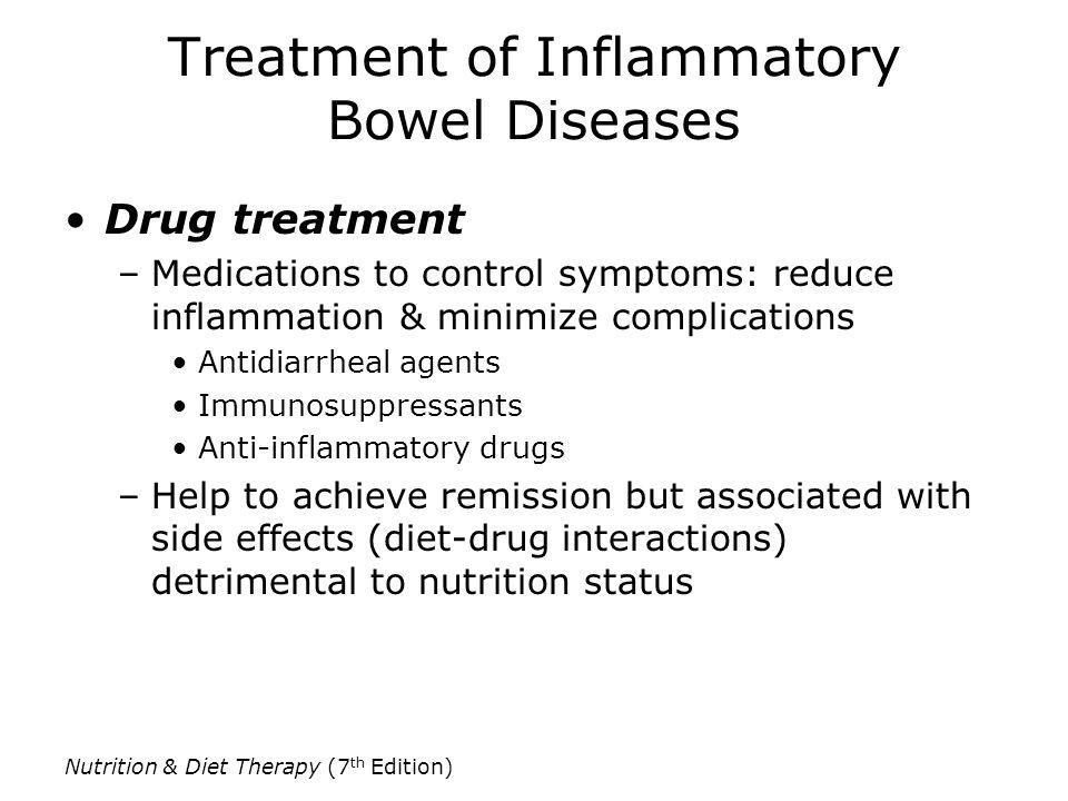 Treatment of Inflammatory Bowel Diseases