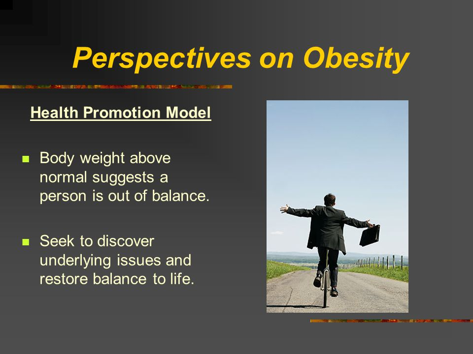 Perspectives on Obesity