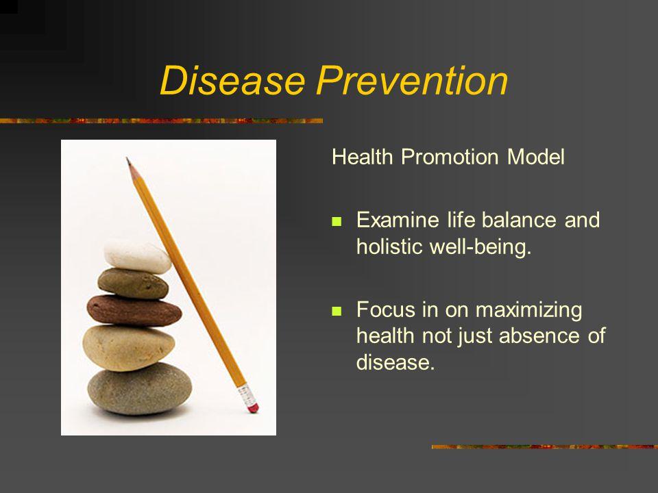 Disease Prevention Health Promotion Model