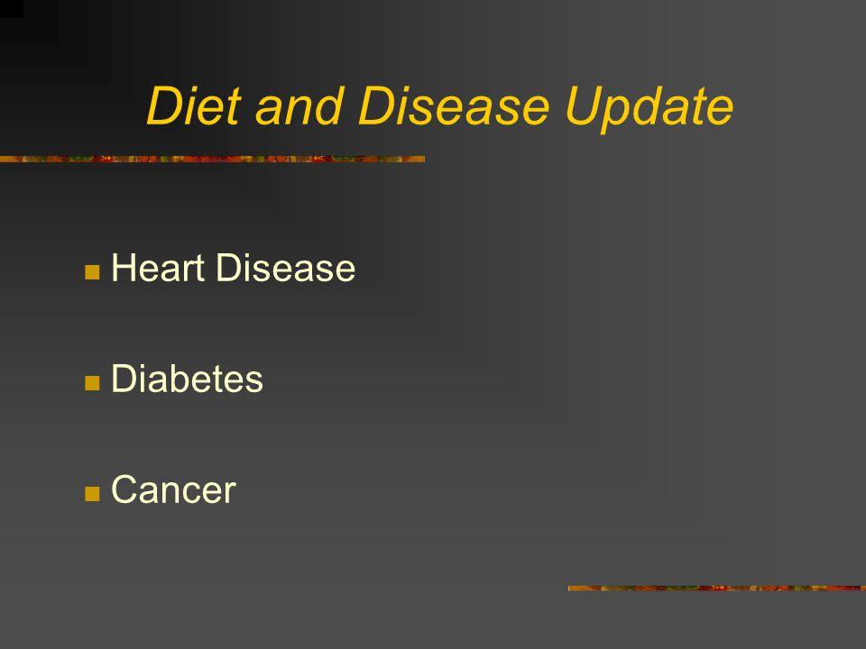 Diet and Disease Update