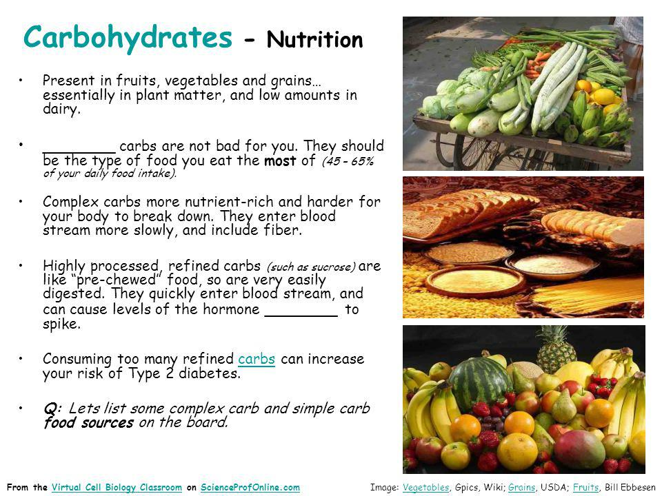 Carbohydrates - Nutrition