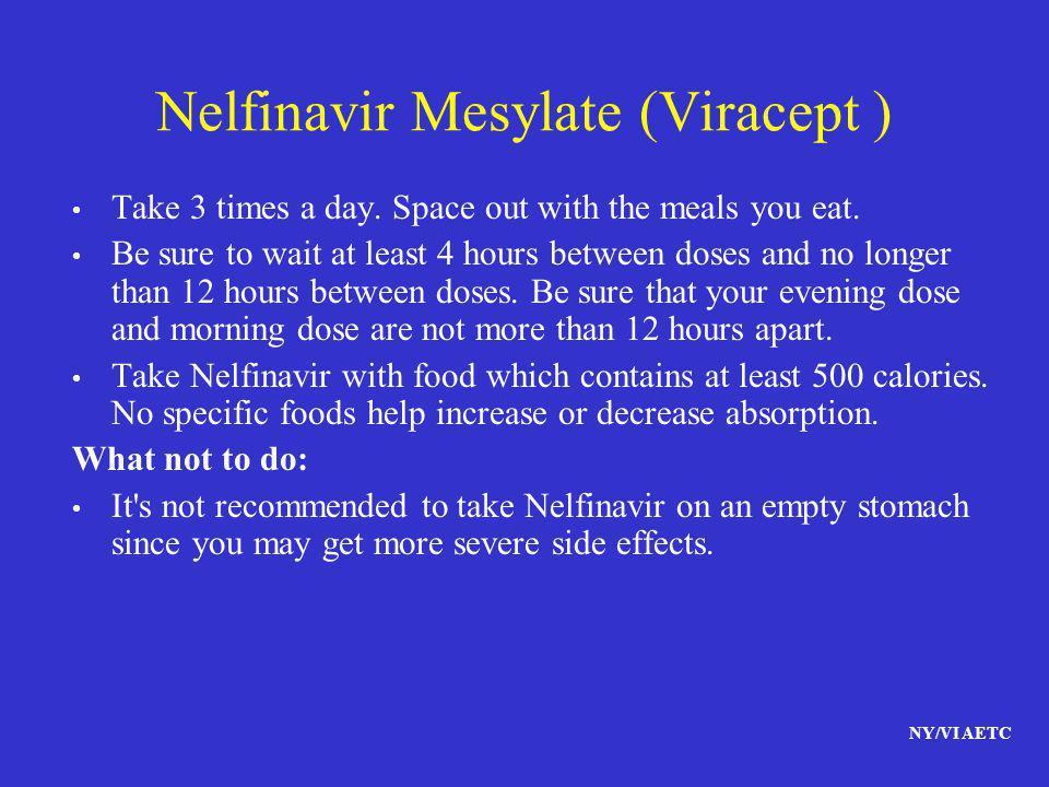 Nelfinavir Mesylate (Viracept )