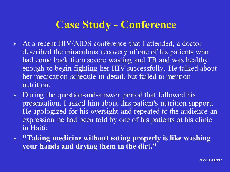 Case Study - Conference