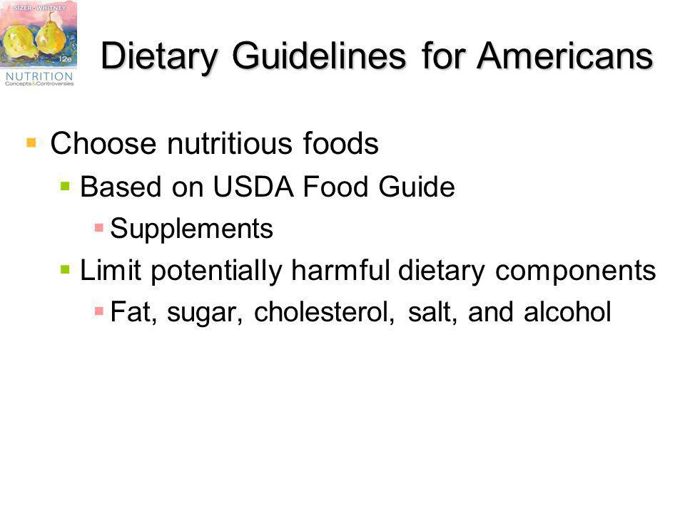 Dietary Guidelines for Americans