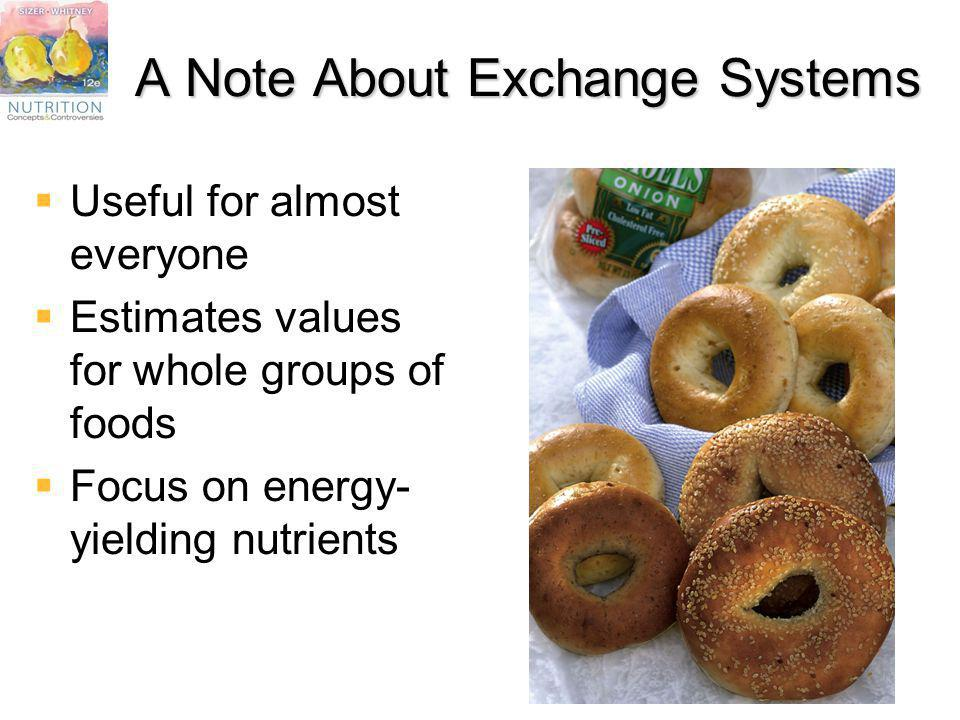 A Note About Exchange Systems