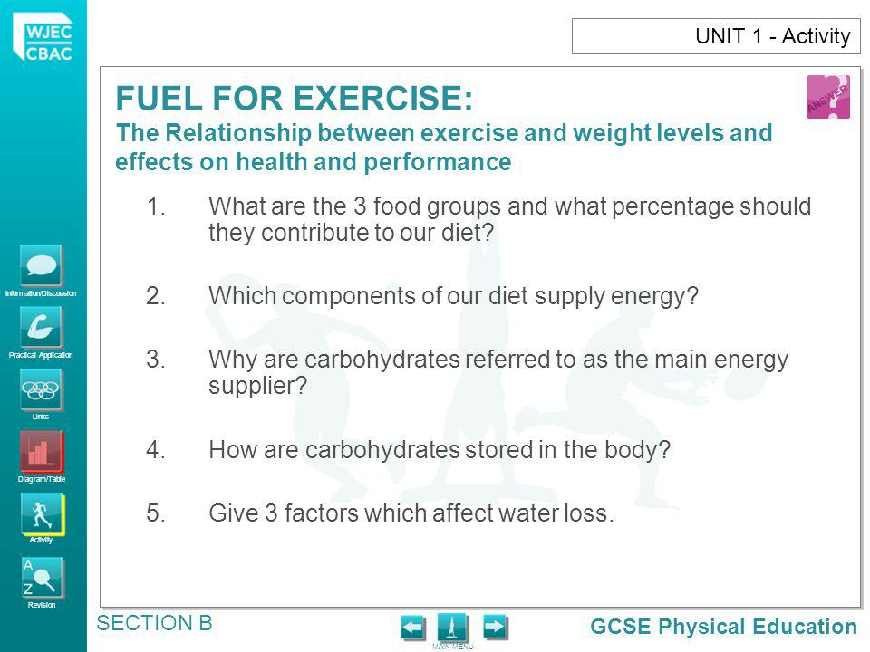 Which components of our diet supply energy