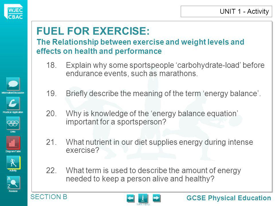 Briefly describe the meaning of the term 'energy balance'.