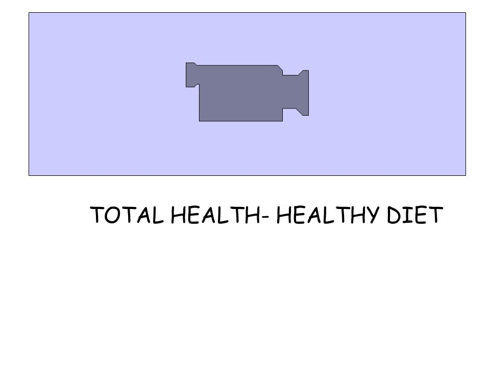 TOTAL HEALTH- HEALTHY DIET