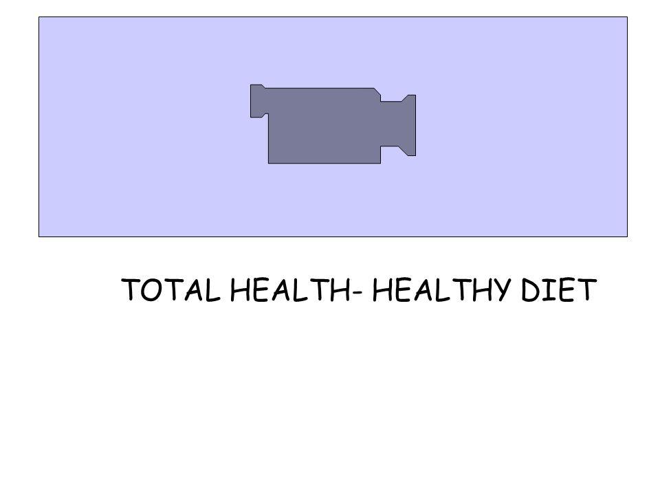 TOTAL HEALTH- HEALTHY DIET