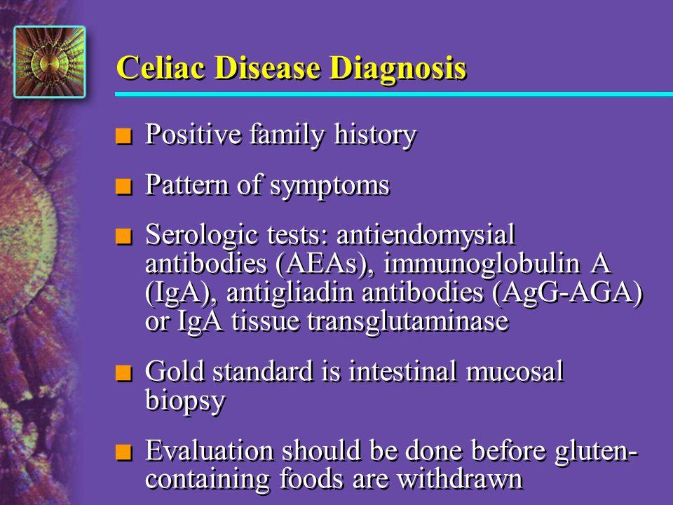 Celiac Disease Diagnosis