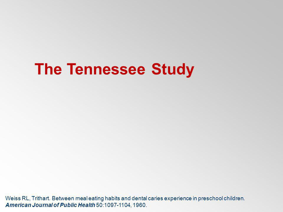 The Tennessee Study