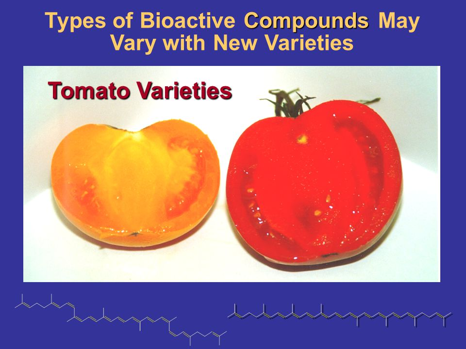 Types of Bioactive Compounds May Vary with New Varieties