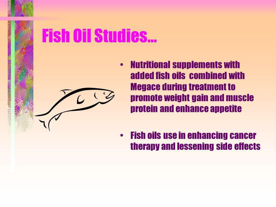 Fish Oil Studies...