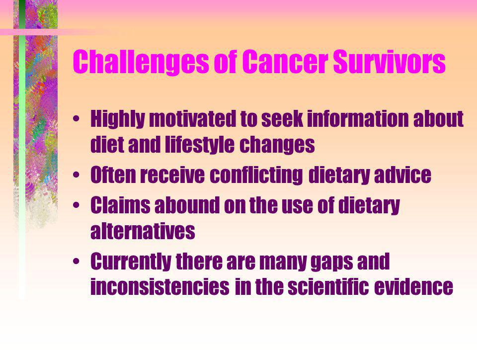 Challenges of Cancer Survivors