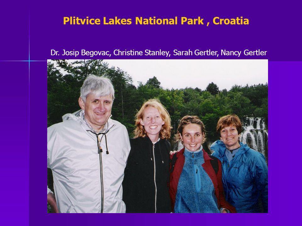 Plitvice Lakes National Park , Croatia