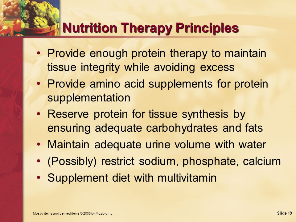 Nutrition Therapy Principles