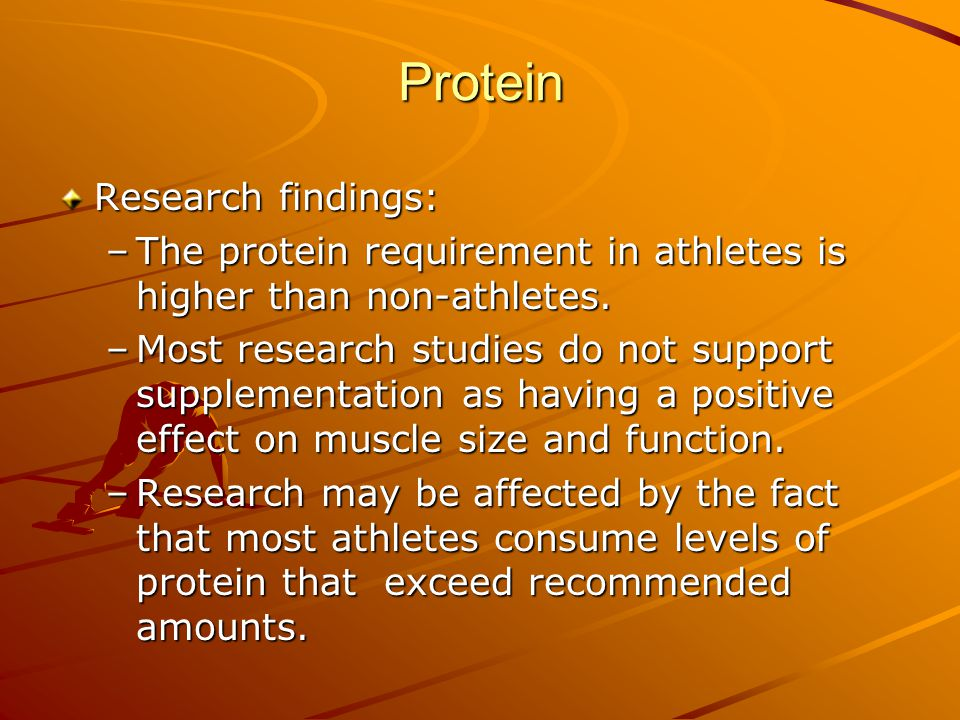 Protein Research findings: