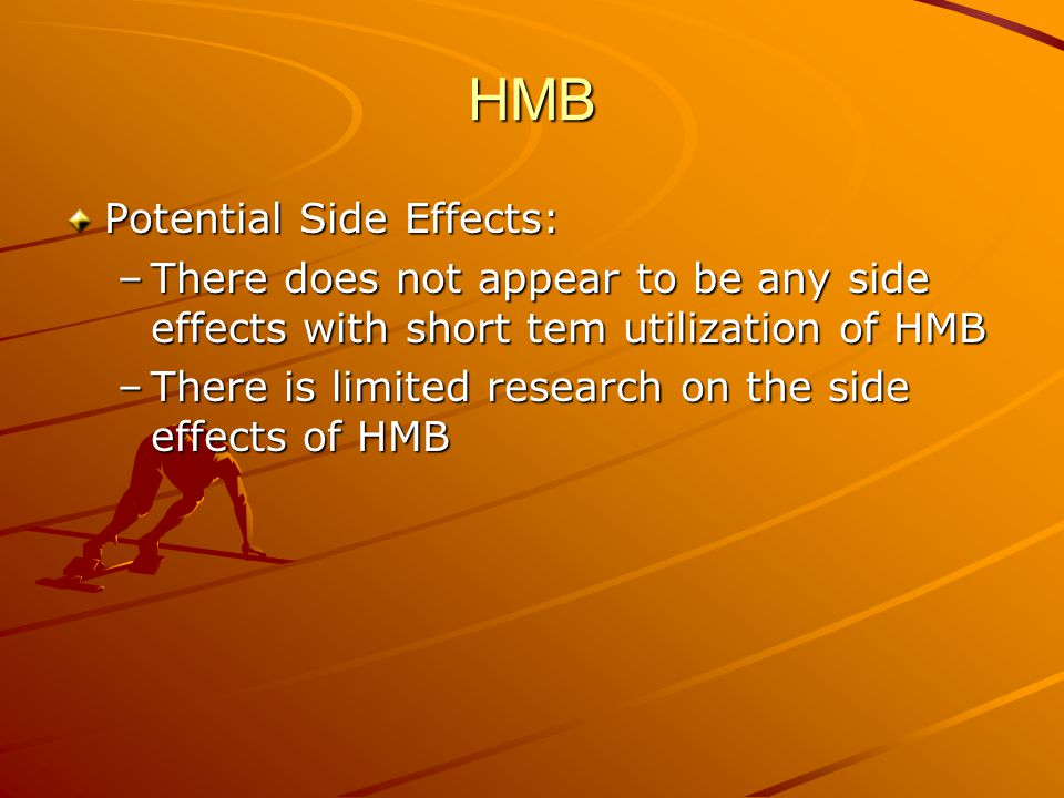 HMB Potential Side Effects: