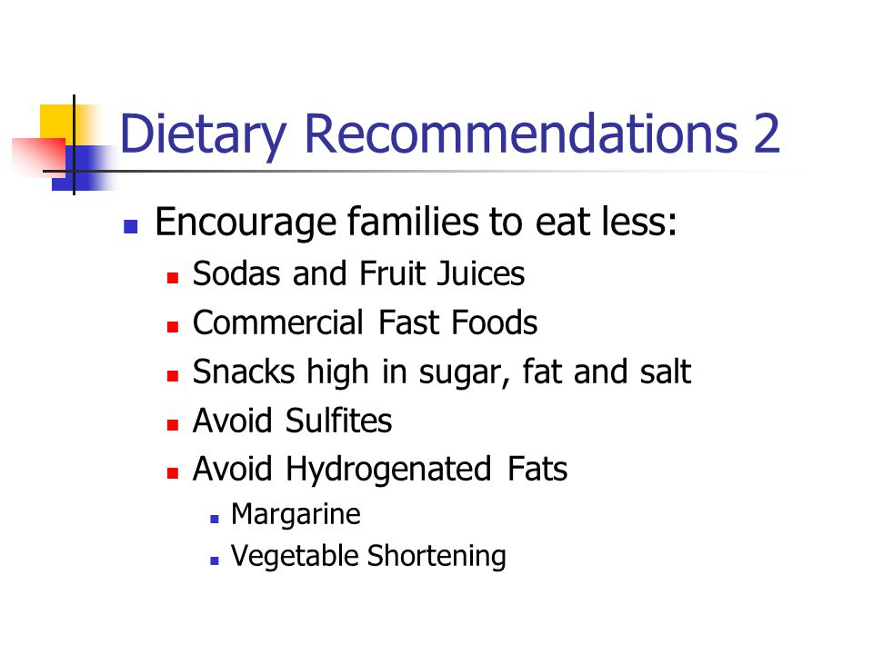 Dietary Recommendations 2