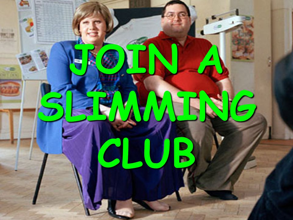 JOIN A SLIMMING CLUB © HEB