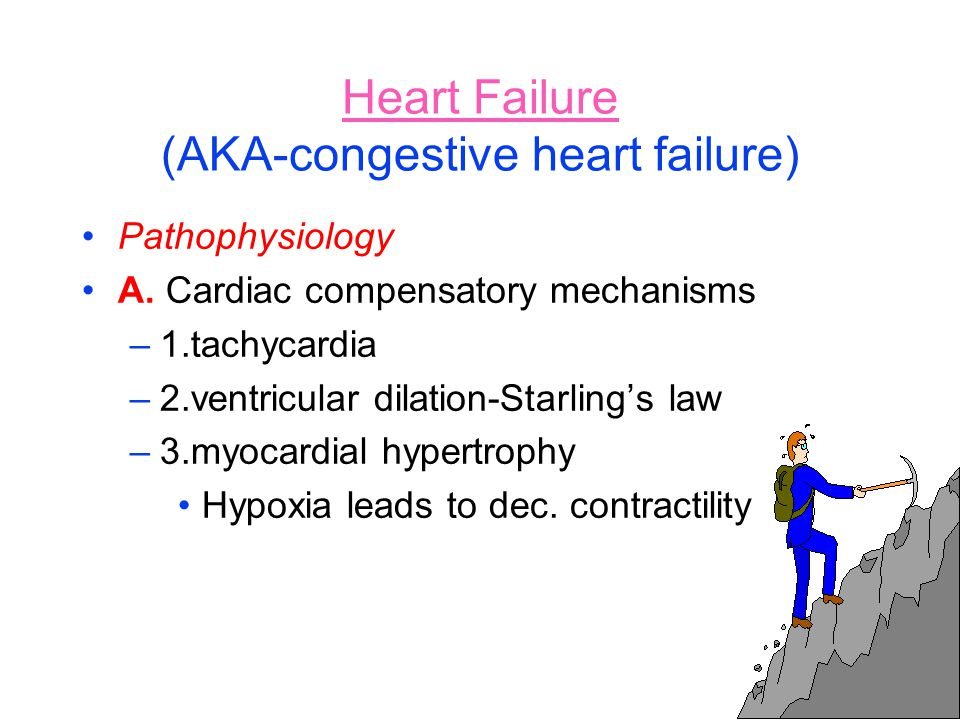 Heart Failure (AKA-congestive heart failure)