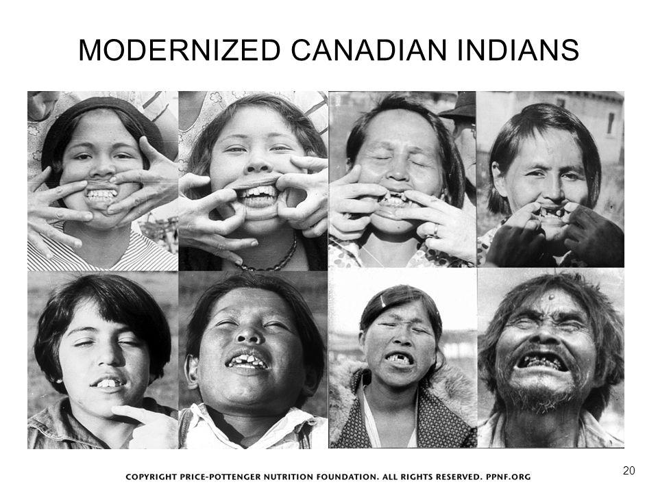 MODERNIZED CANADIAN INDIANS