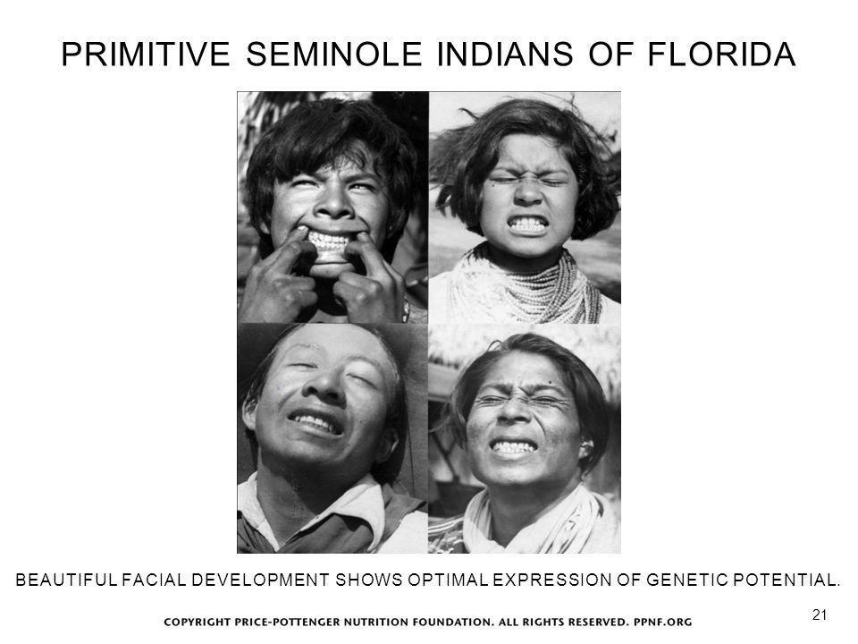 PRIMITIVE SEMINOLE INDIANS OF FLORIDA