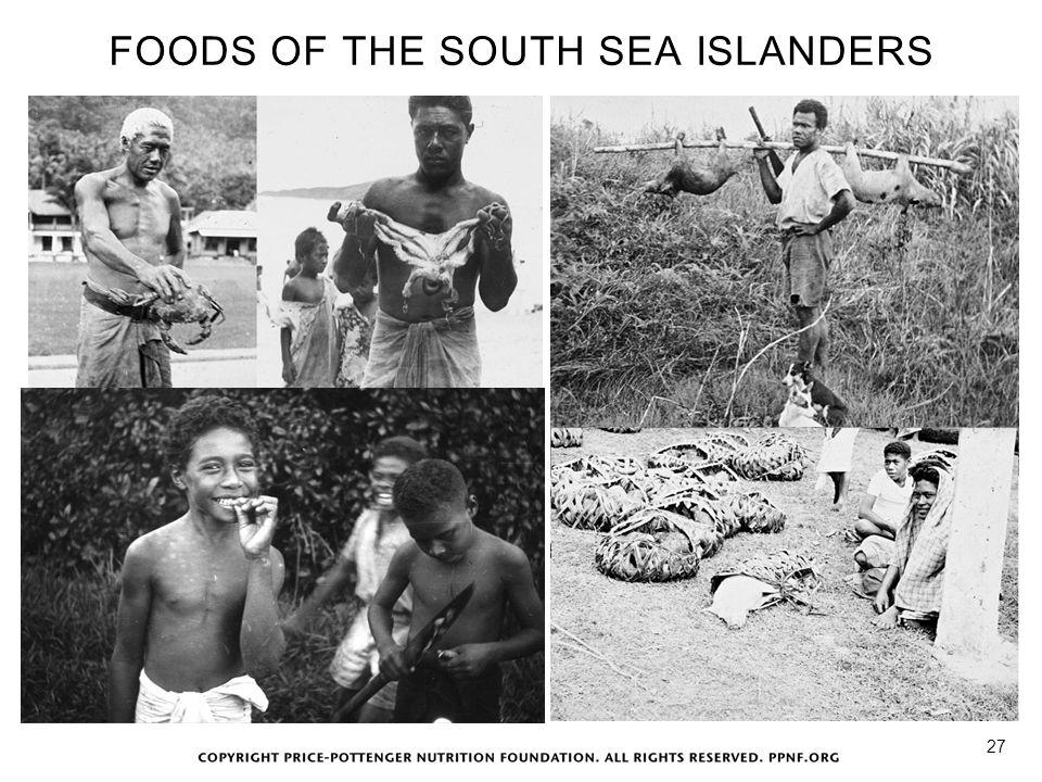 FOODS OF THE SOUTH SEA ISLANDERS