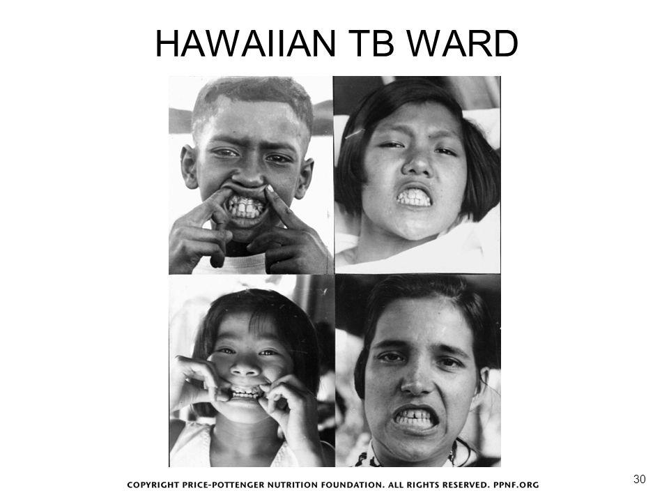 HAWAIIAN TB WARD