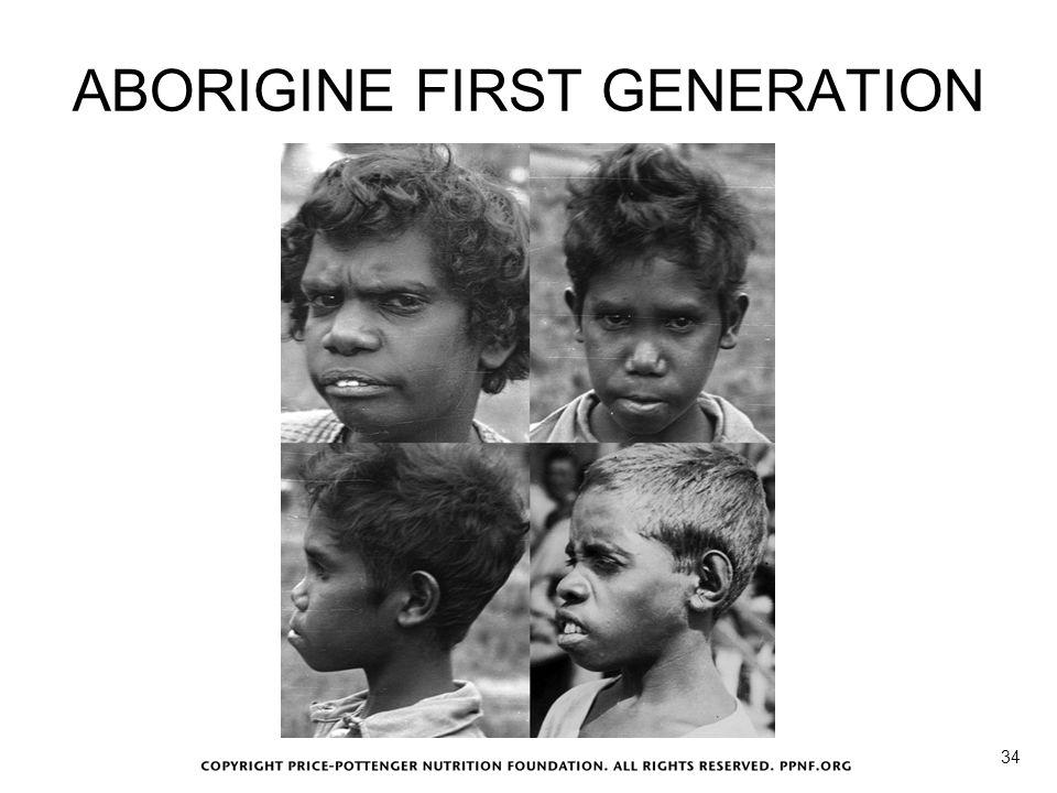 ABORIGINE FIRST GENERATION