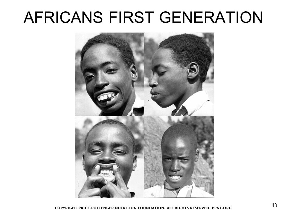 AFRICANS FIRST GENERATION