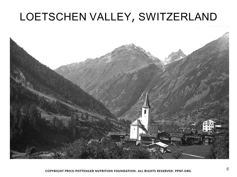 LOETSCHEN VALLEY, SWITZERLAND