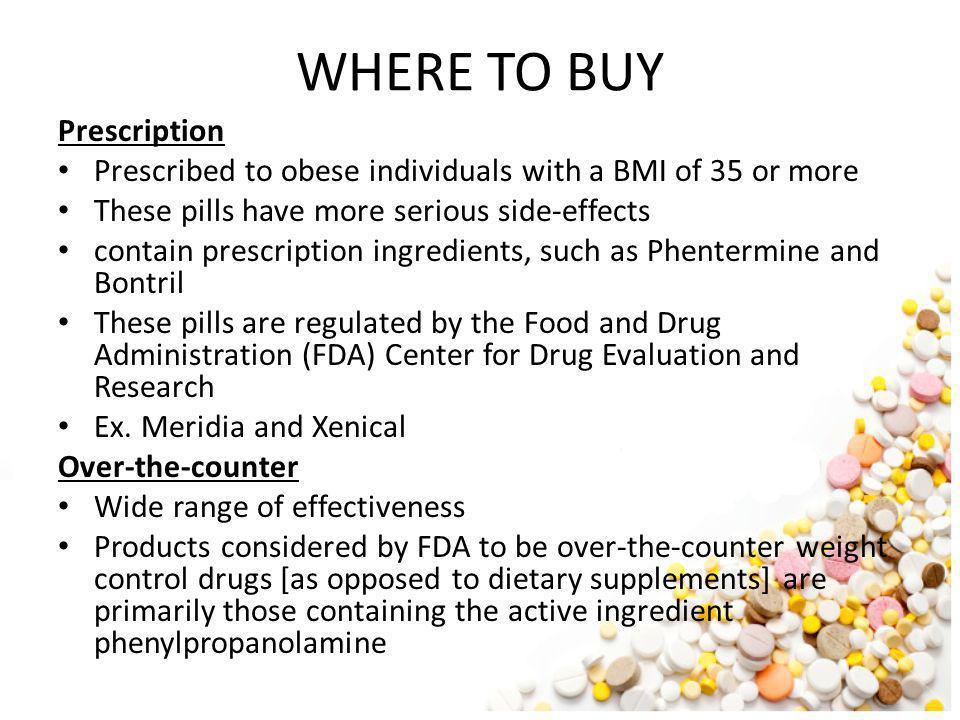 WHERE TO BUY Prescription