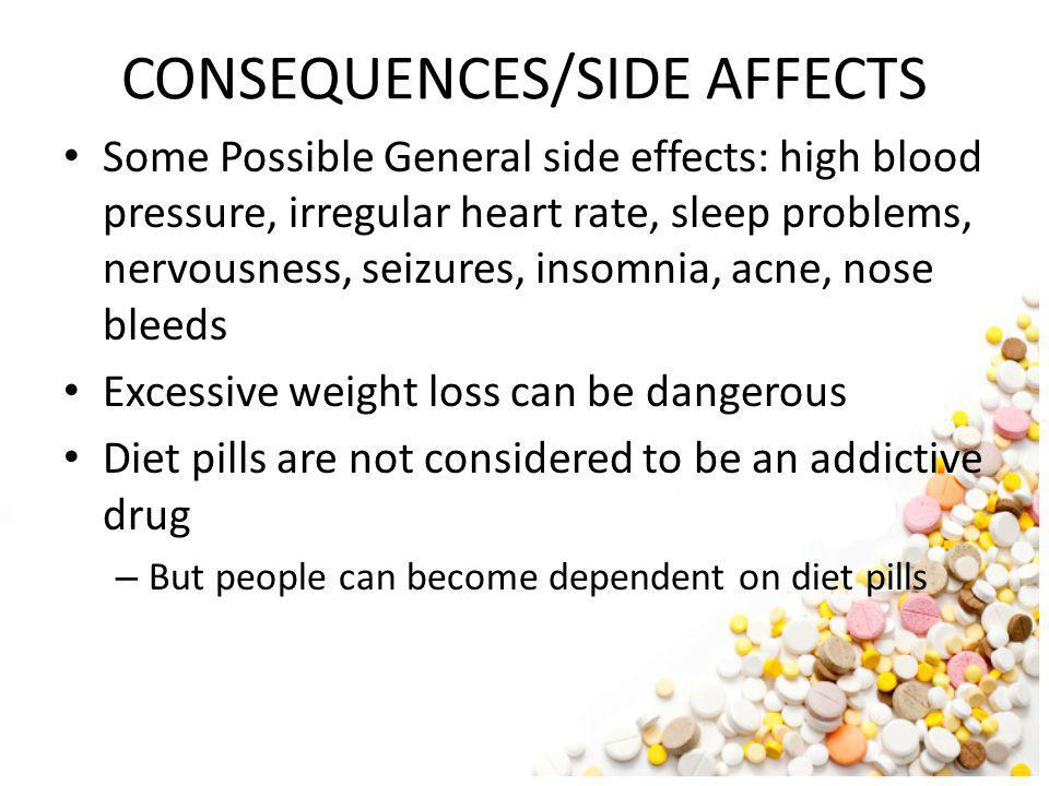CONSEQUENCES/SIDE AFFECTS