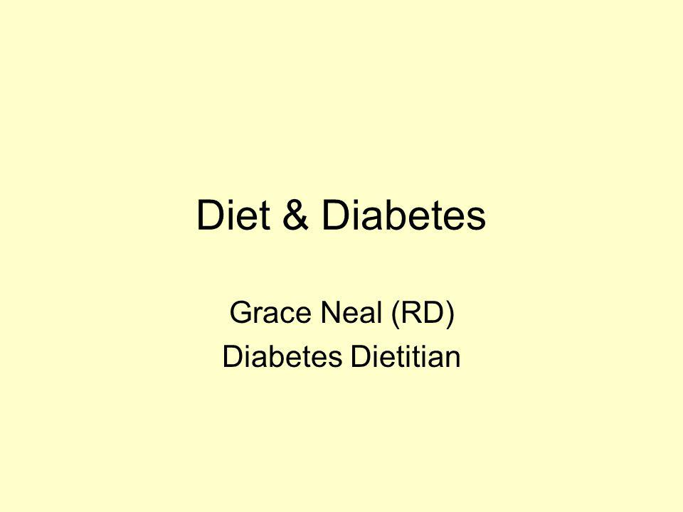 Grace Neal (RD) Diabetes Dietitian