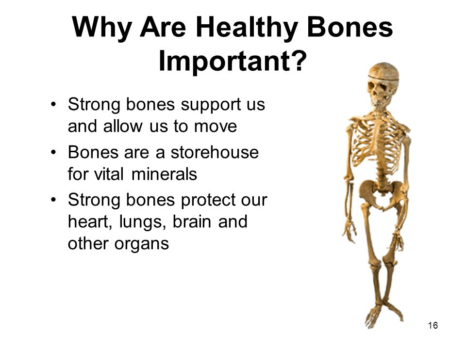 Why Are Healthy Bones Important
