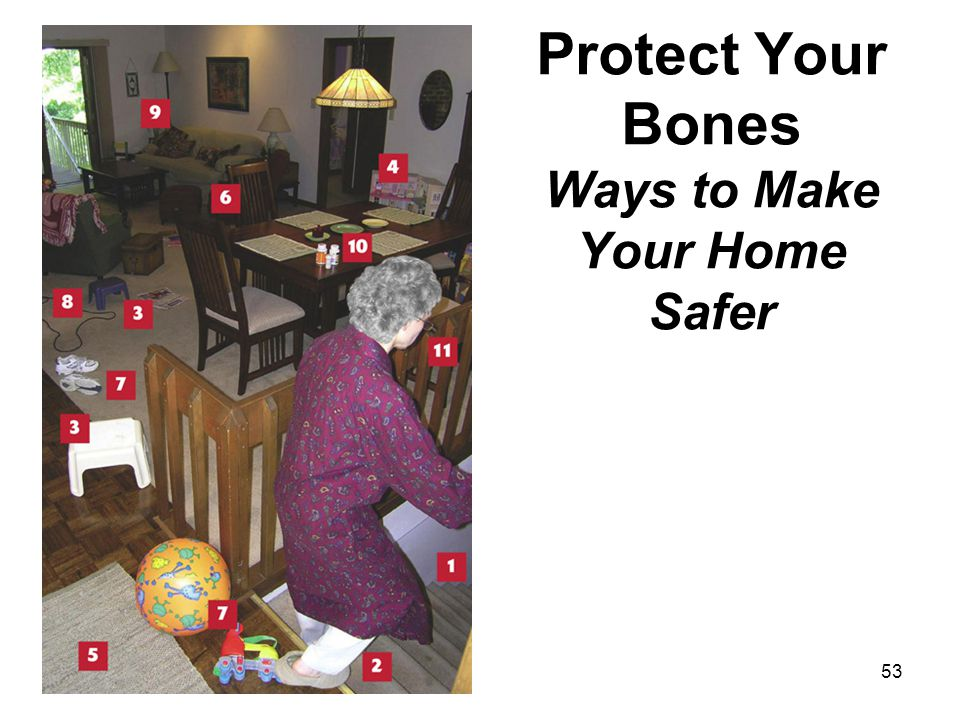 Protect Your Bones Ways to Make Your Home Safer