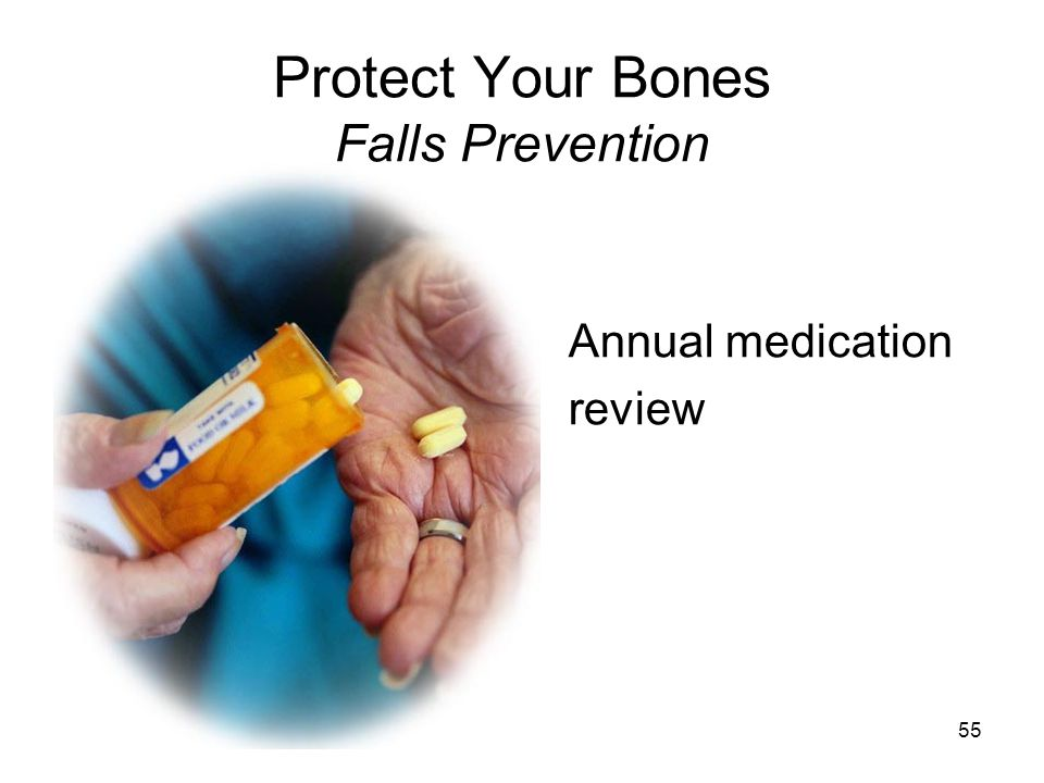 Protect Your Bones Falls Prevention