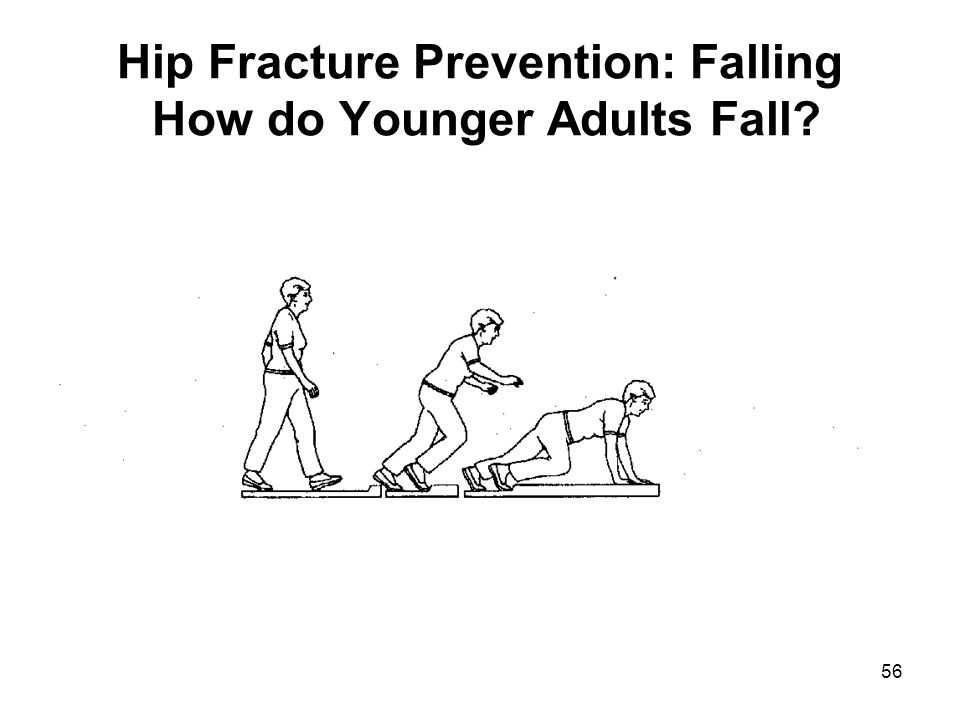 Hip Fracture Prevention: Falling How do Younger Adults Fall
