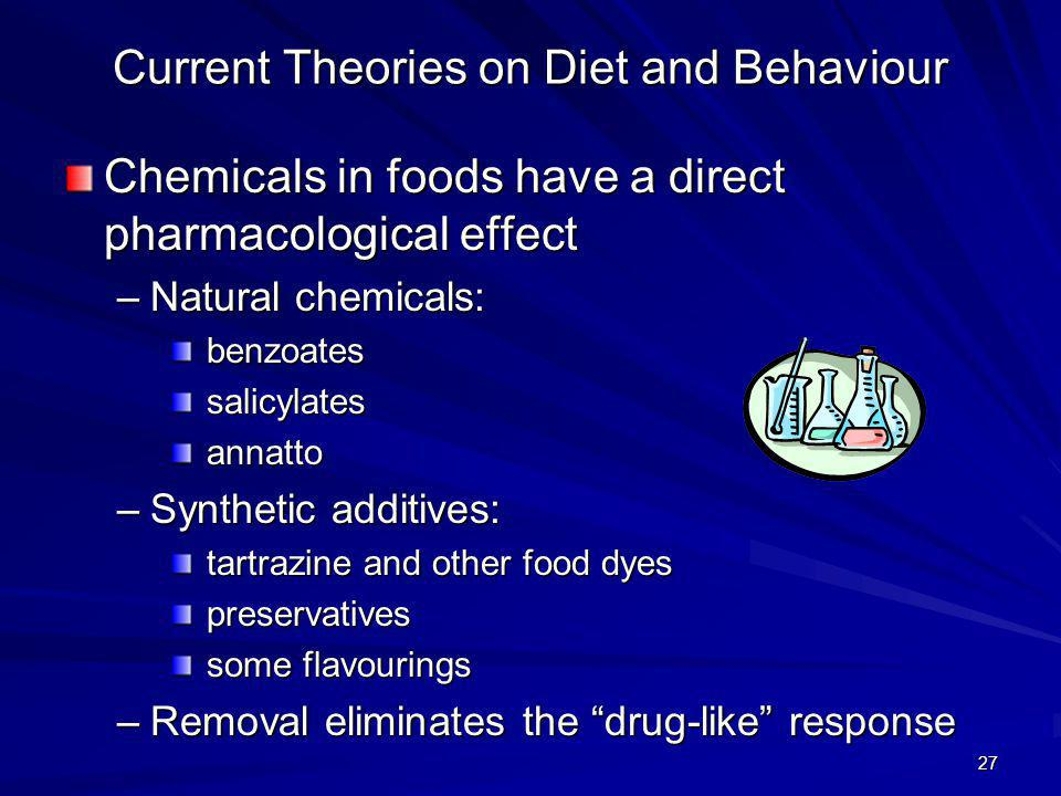 Current Theories on Diet and Behaviour