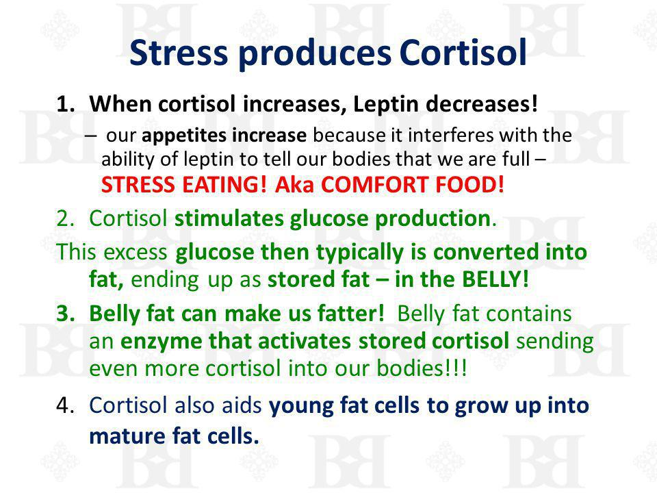 Stress produces Cortisol