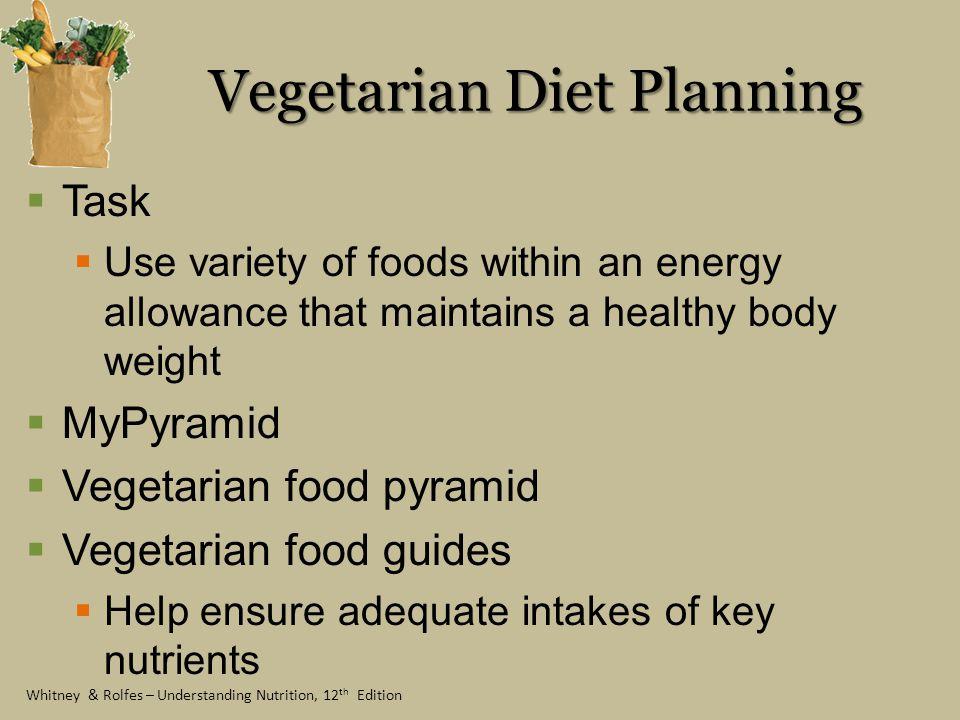 Vegetarian Diet Planning