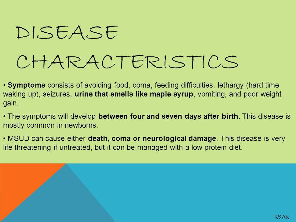 Disease Characteristics