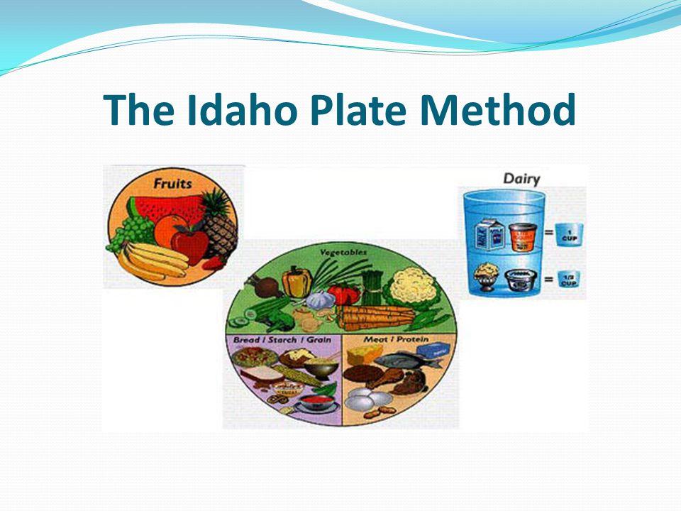 The Idaho Plate Method