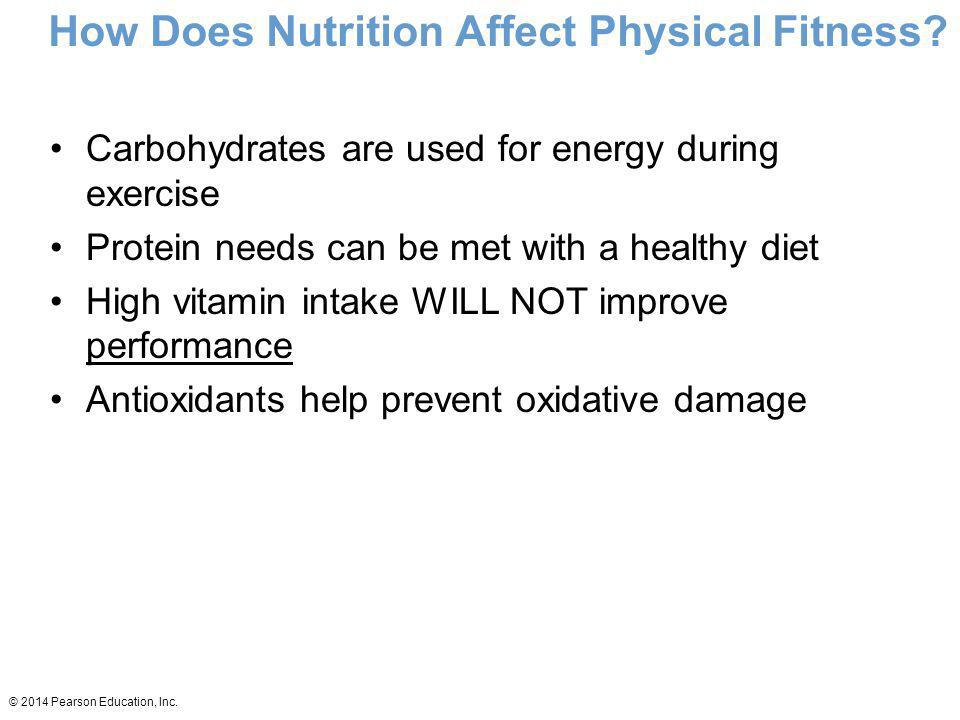 How Does Nutrition Affect Physical Fitness