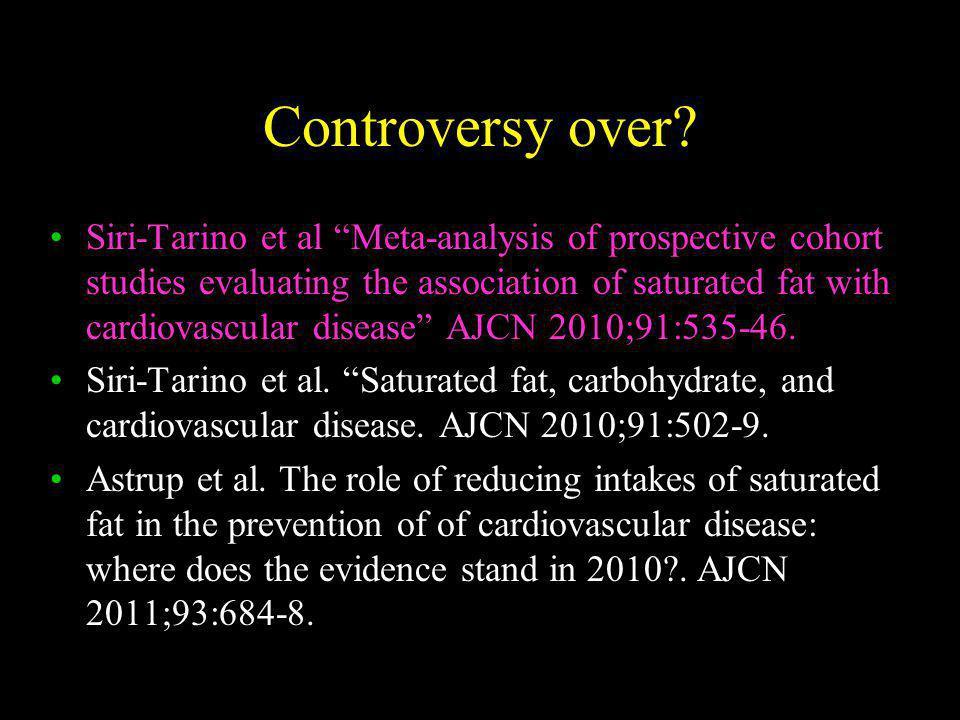 Controversy over