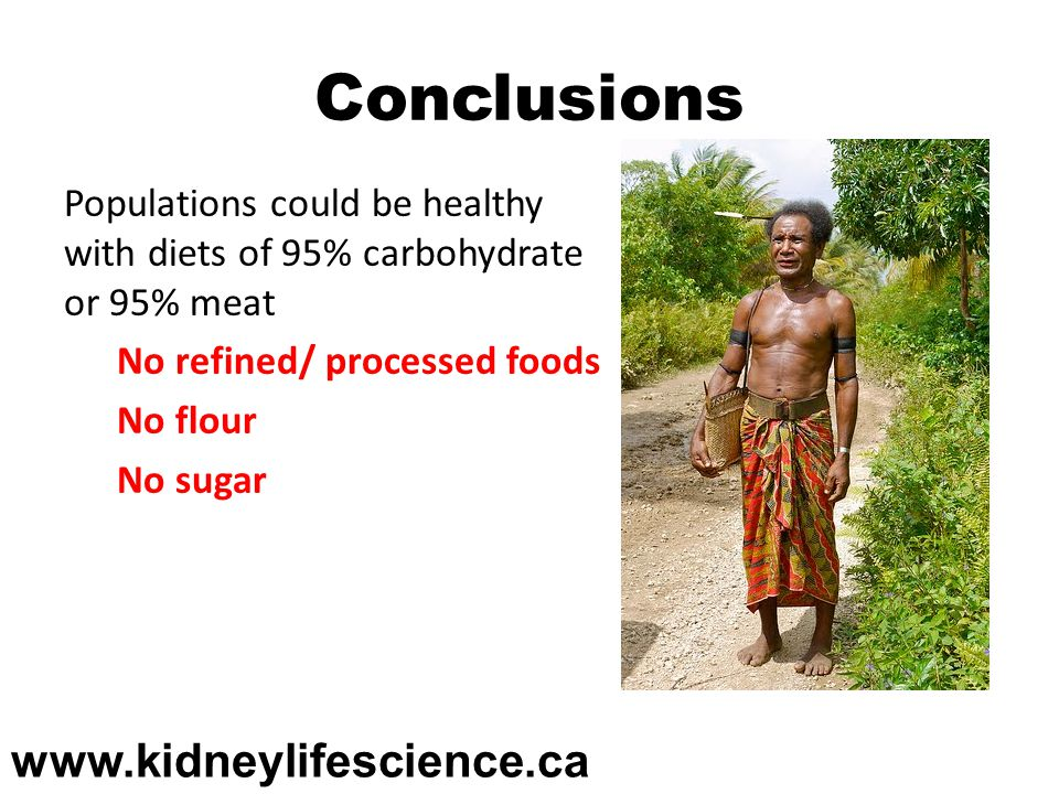 Conclusions www.kidneylifescience.ca