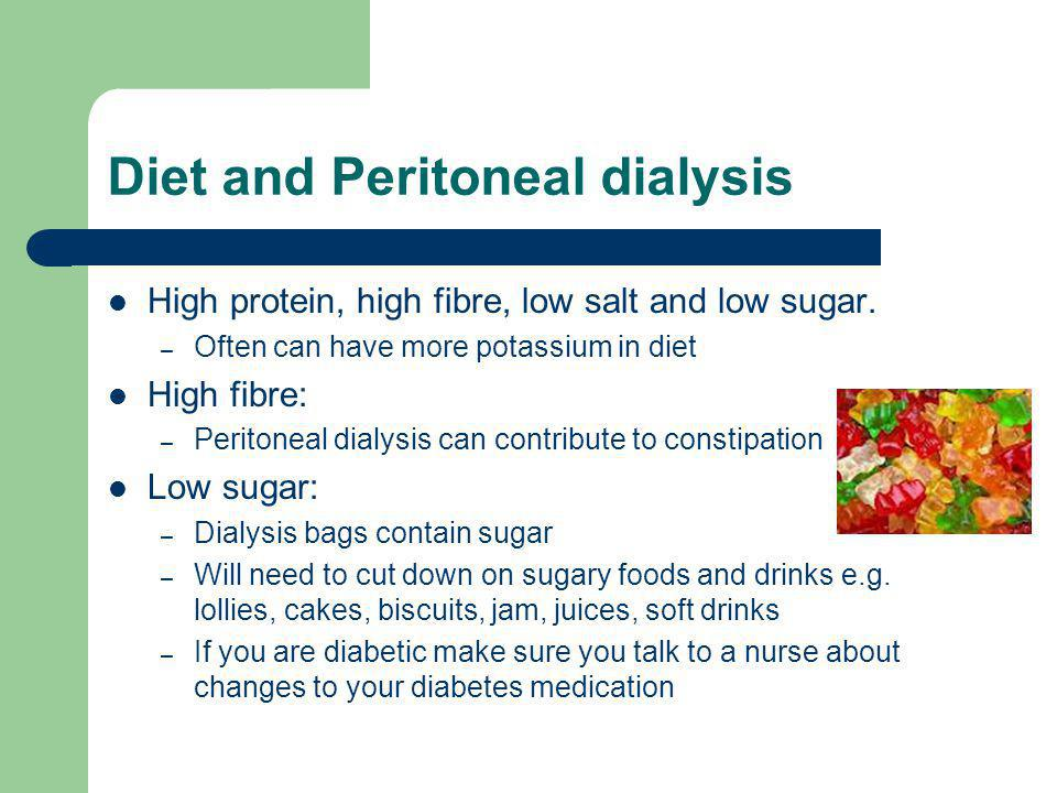Diet and Peritoneal dialysis