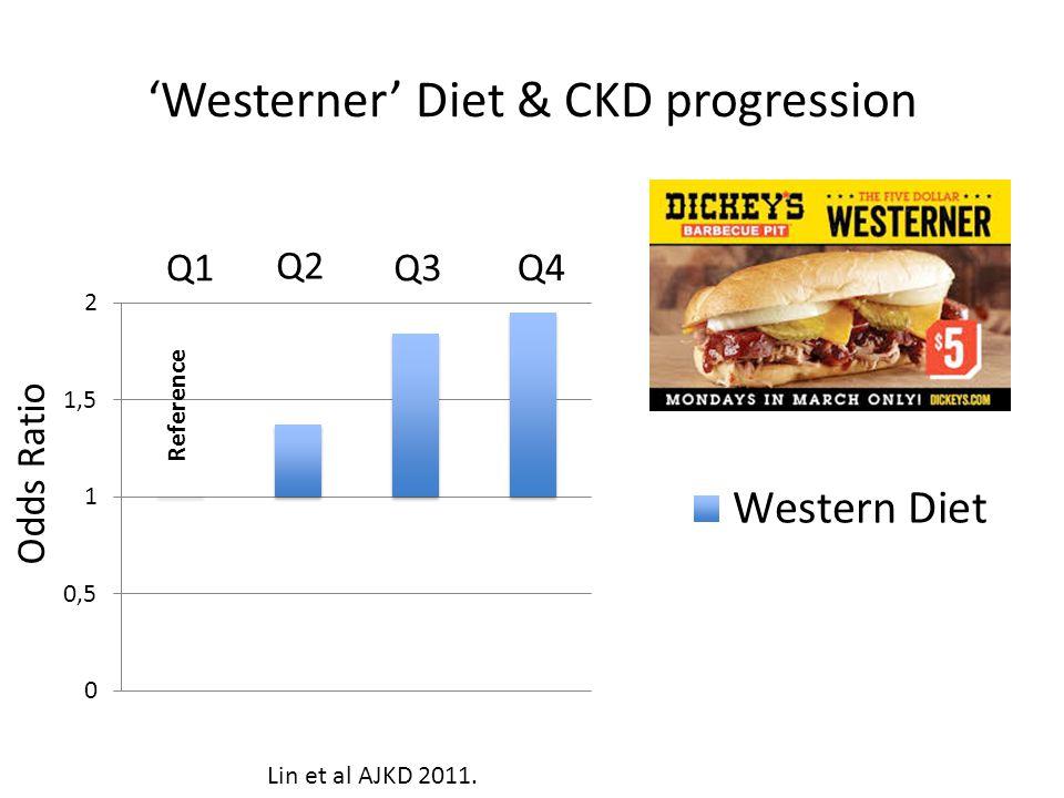 'Westerner' Diet & CKD progression