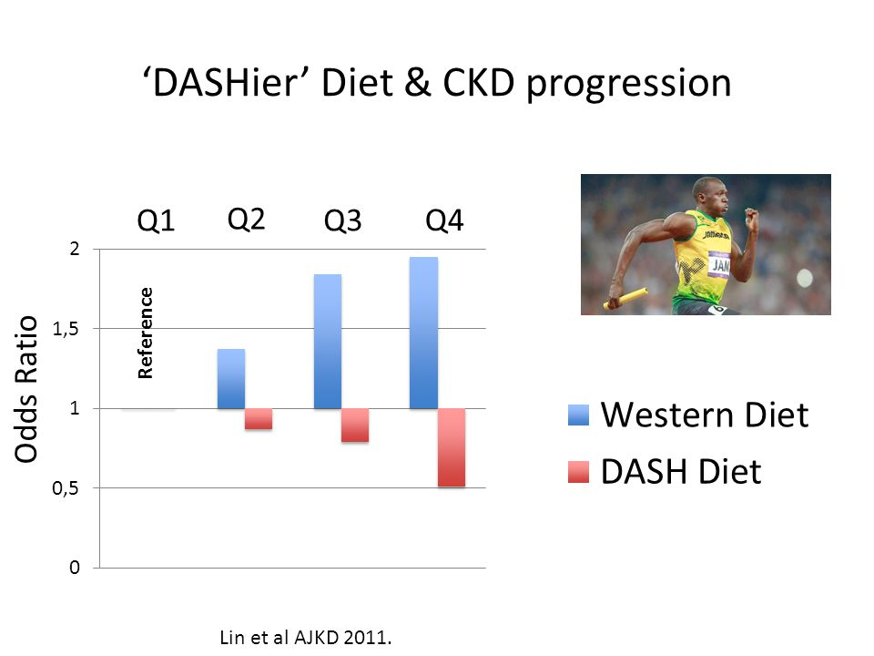 'DASHier' Diet & CKD progression